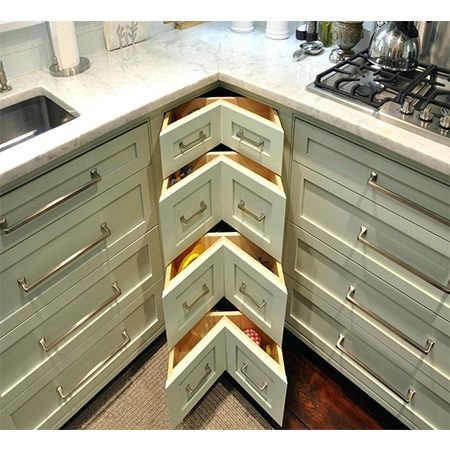 drawers,corner unit,cutlery trays6